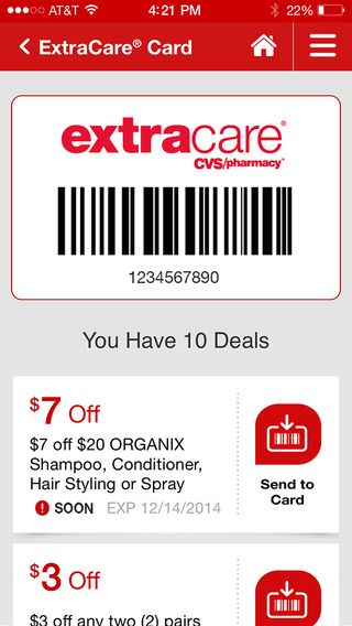 iPhone Screenshot 2 Cvs pharmacy, Pharmacy, Organix shampoo