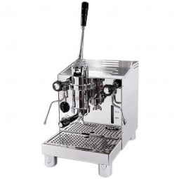 Barista Has To Pull The Lever Fill Internal Piston With Hot Water A Shot Quick Mill Achille Action Espresso Machine