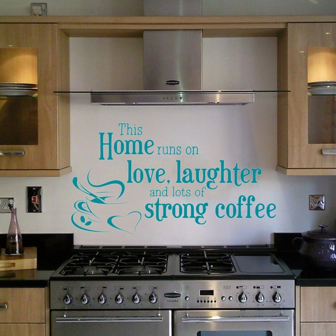 Love this for over the stove/kitchen wall decoration idea!