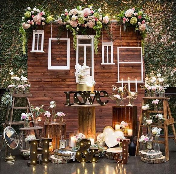 101 fiestas ventanas o puertas para decorar tu fiesta - Decoracion estilo rustico ...