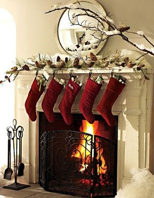 christmas decorating fireplace,decorating fireplace mantel - christmas fireplace decor