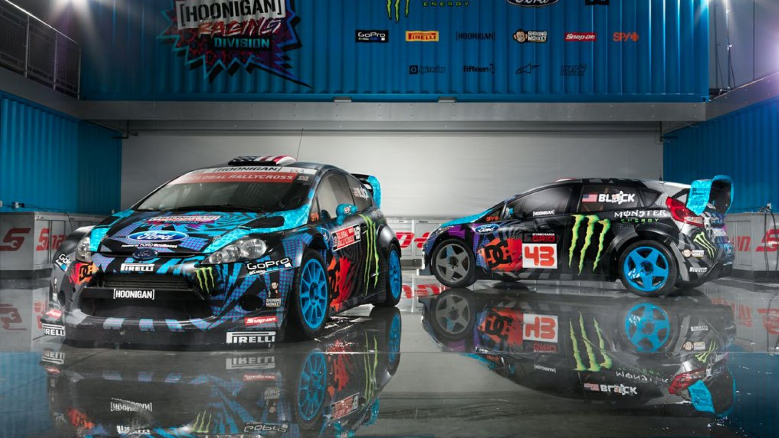 Ken Block Just Blue Himself Ken Block Rally Car Ford Fiesta St