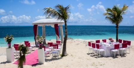 Riu Palace Peninsula Beach Wedding Set Up Book