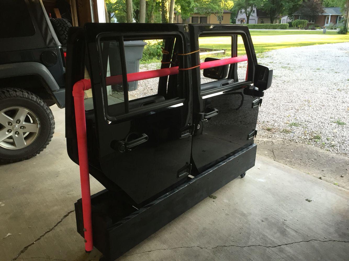 Jeep Door Storage Jeep Wrangler Doors Jeep Doors Jeep Gear