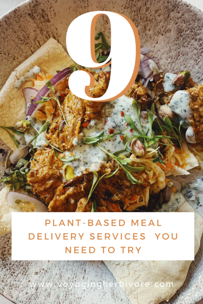 9 Plant Based Meal Delivery Services That You Need To Try Food Delivery Service Ideas Of Food Delivery Service Foodd In 2020 Vegan Meal Plans Vegan Meal Kit Meals