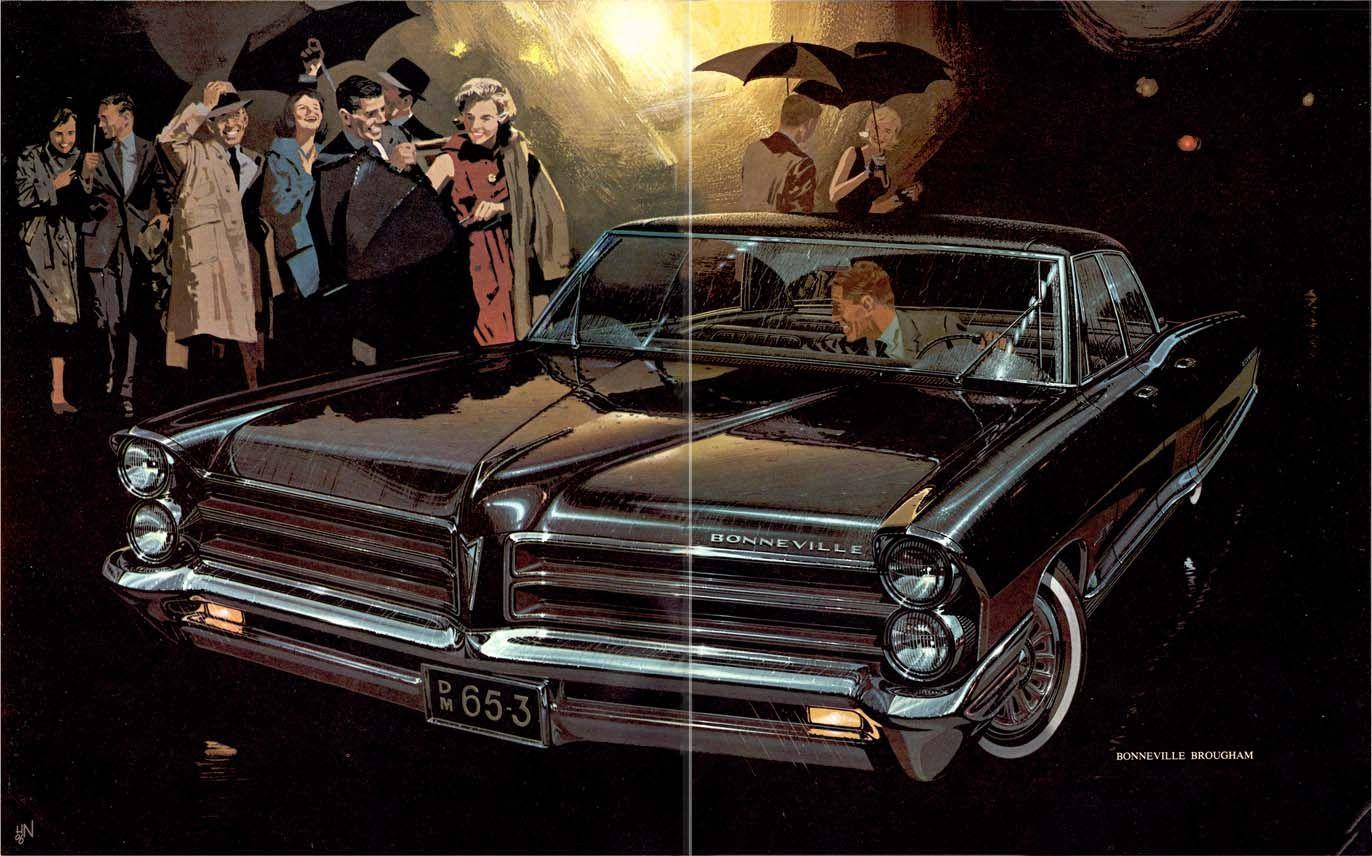 1965 Pontiac bonneville   Pontiac   car brochures   Pinterest     Classic car database with detailed 1965 Pontiac GTO Facts  History   Specifications  Colors  and quarter performance times and more