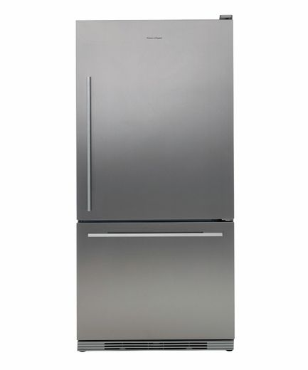 Rf175wdrx1 Fisher Paykel Active Smart Bottom Mount Refrigerator With Flat Door Right Hinge Stainl Bottom Freezer Refrigerator Refrigerator Bottom Freezer