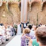 Geometric Wedding Vincigliata Castle Florence: Kate & Mike