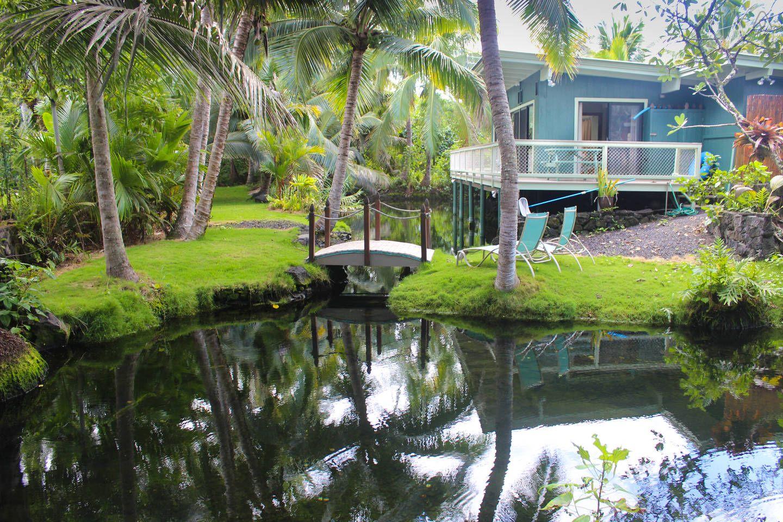 Kapoho Tiki Cottage - vacation rental in Pähoa, Hawaii. View more: #PhoaHawaiiVacationRentals