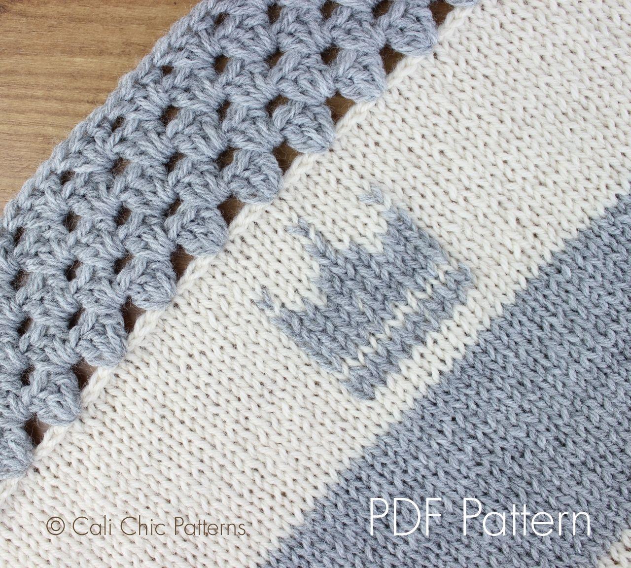 Cali Chic Patterns - Cali Kids - Knit Blanket PATTERN 27 , $5.00 ...