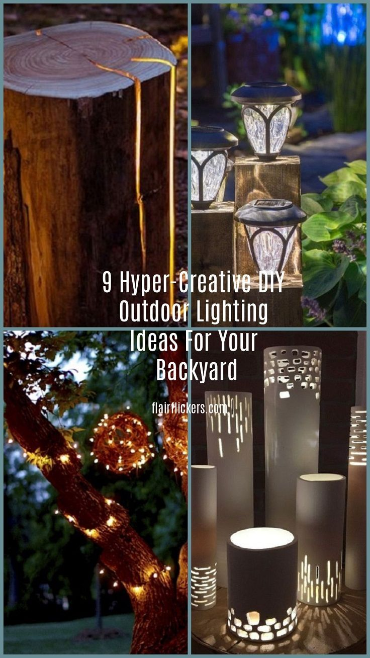 creative outdoor lighting ideas. 9 Hyper-Creative DIY Outdoor Lighting Ideas For Your Backyard | Pinterest And Creative T