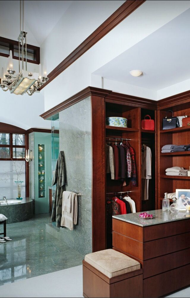 Dressing Room Bath Bathroom Closet Designs Master Bedroom
