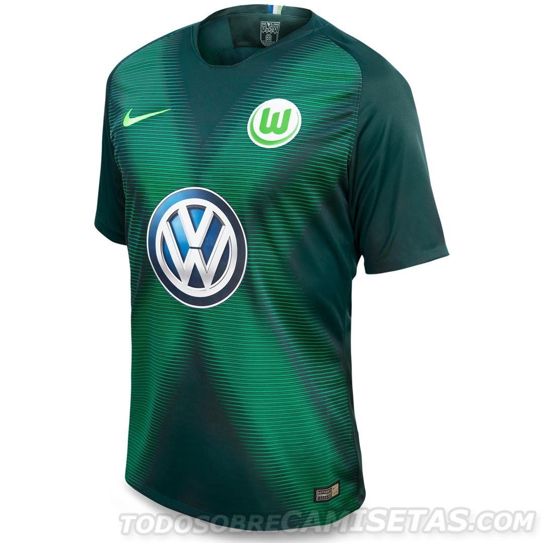 8ec165c88f689 VfL Wolfsburg Nike Kits 2018-19