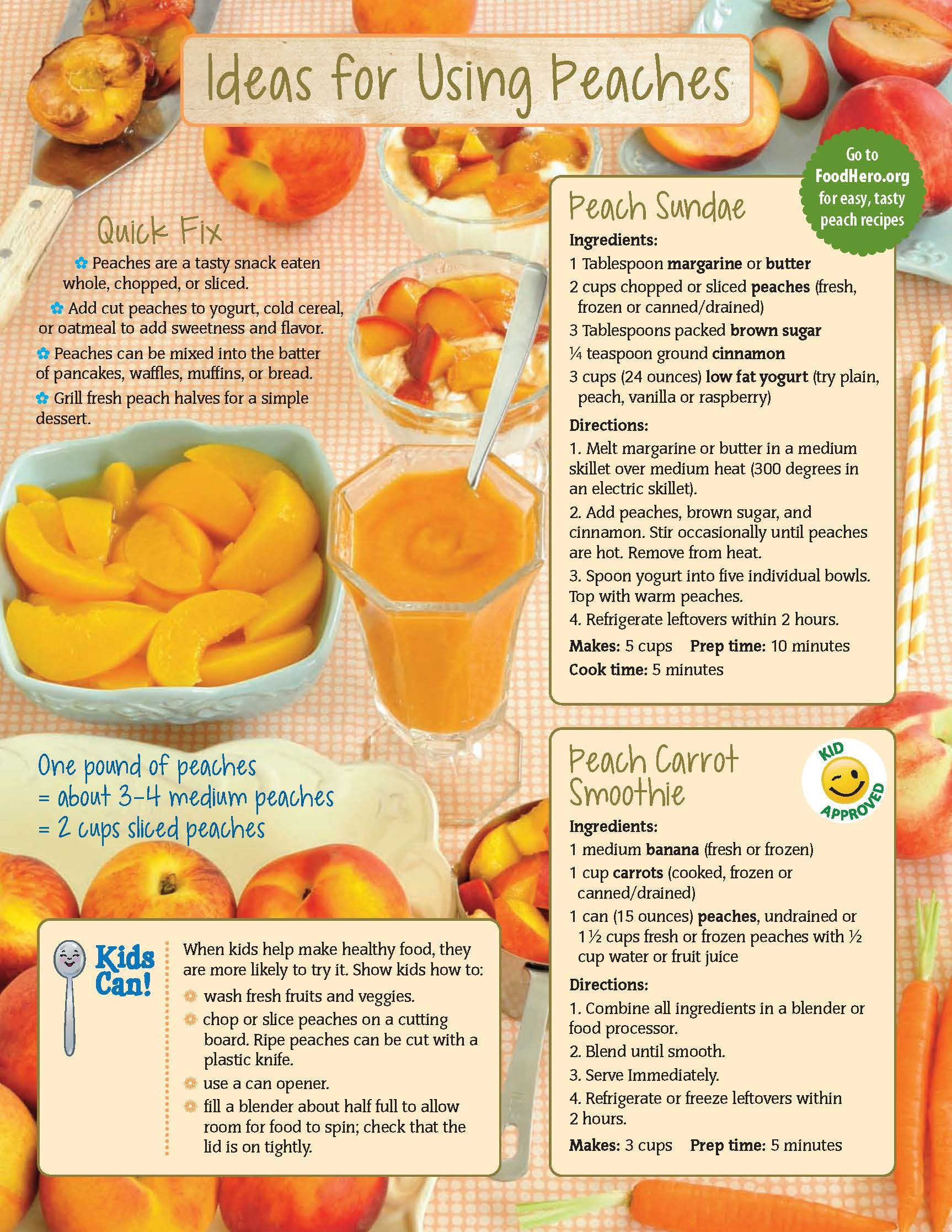 Cooking with peach food hero monthly food hero healthy recipes food hero monthly food hero healthy recipes that are fast forumfinder Choice Image