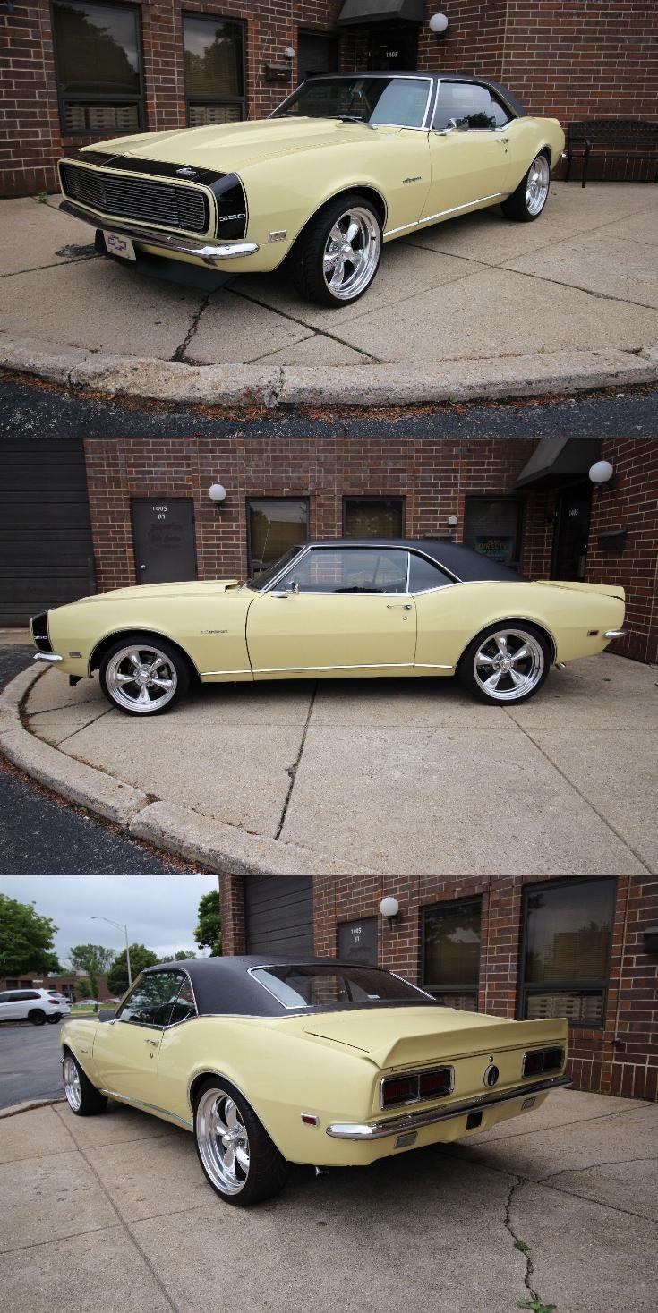 restored 1968 Chevrolet Camaro RS