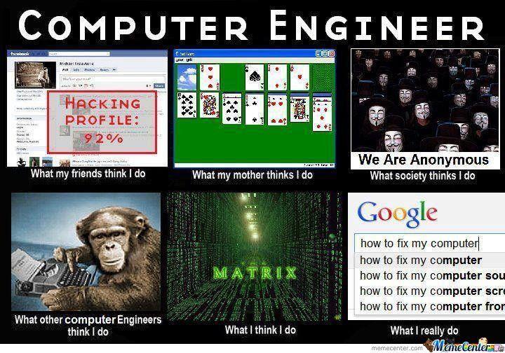 6985b5979e5d51a3923d60cc3b9a66b1 computer engineer meme center, meme and memes