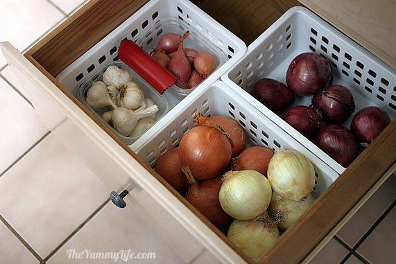 How To Store Onions Garlic Shallots Recipe How To Store Potatoes Potato Storage Garlic Storage