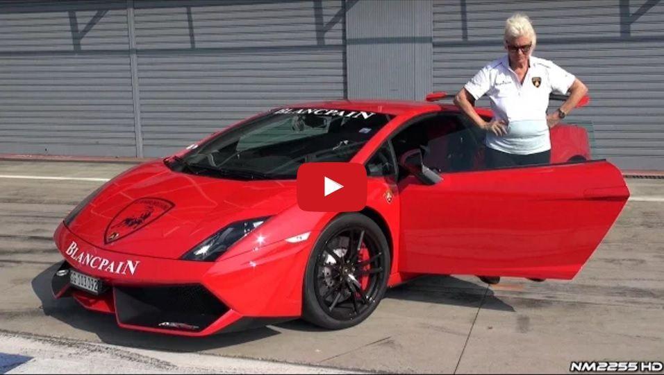 Cool Grandma With A Cool Car You Would Never Imagine That A Grandma Would Drive A Lamborghini Better Than Most Of U Lamborghini Gallardo Lamborghini Cool Cars