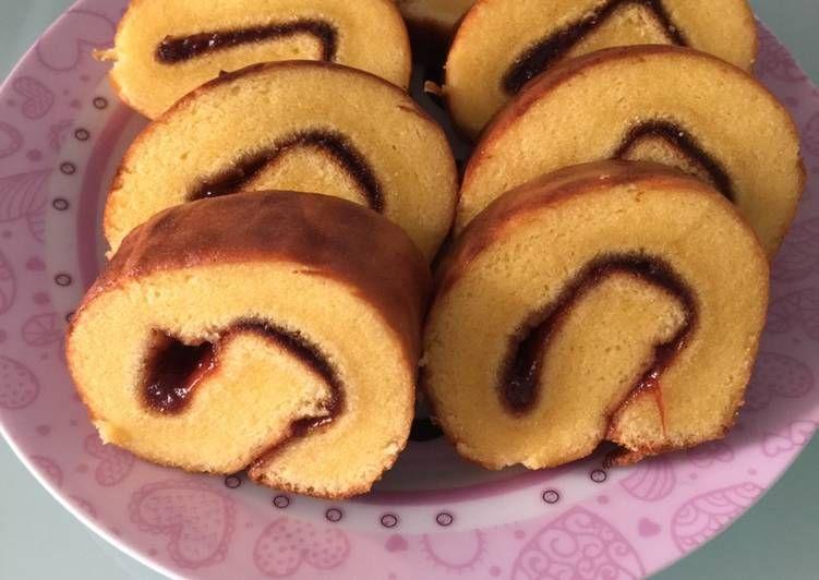 Resep Bolu Gulung Lembut Oleh Vera Ferdinandus Resep Oreo Pudding Kue Gulung Makanan