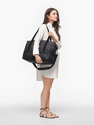 de6cfa5aa6a The Catalina Deluxe - Washed Canvas - Dove Grey - Small | Travel ...