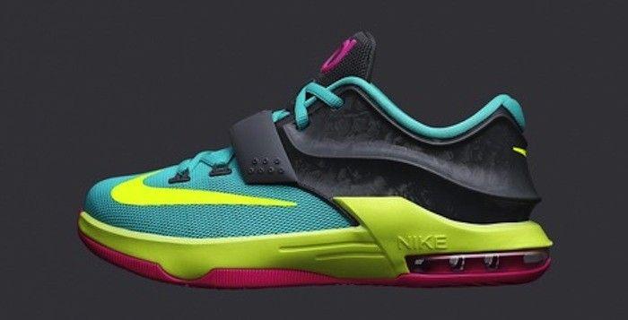 "fe049338924d Nike KD VII GS ""Carnival"""
