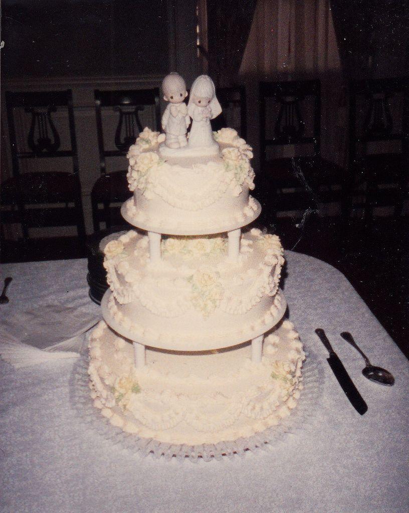 Mark and Kathleen Wedding Cake Vintage Wedding Cakes Pinterest