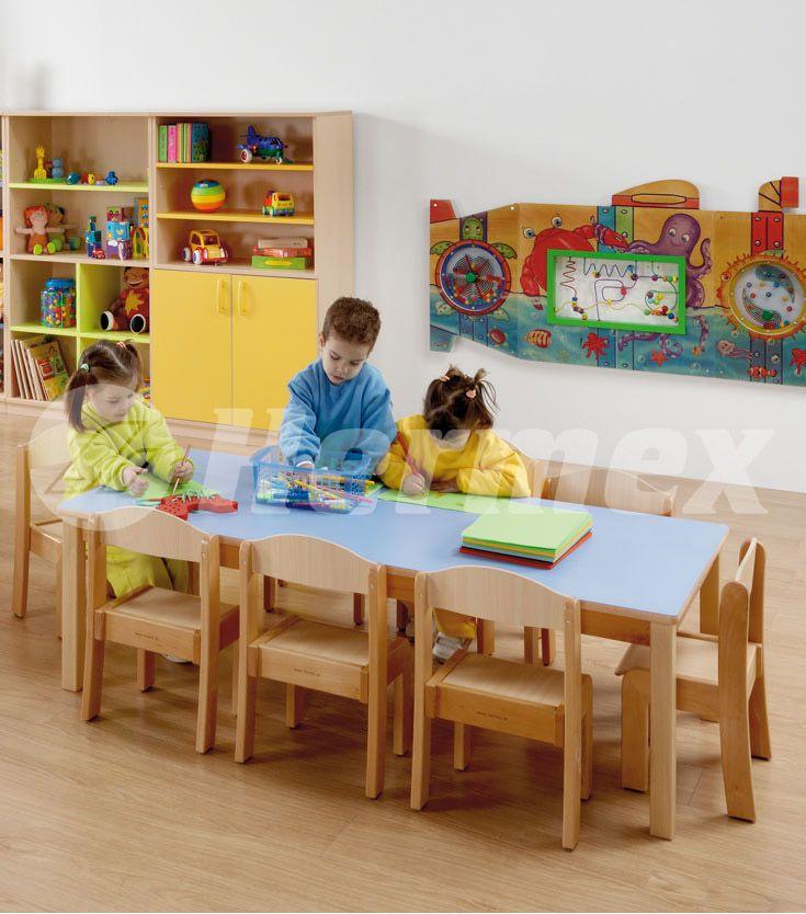 Sillas europa en aula infantil sillas escolares for Muebles para aulas