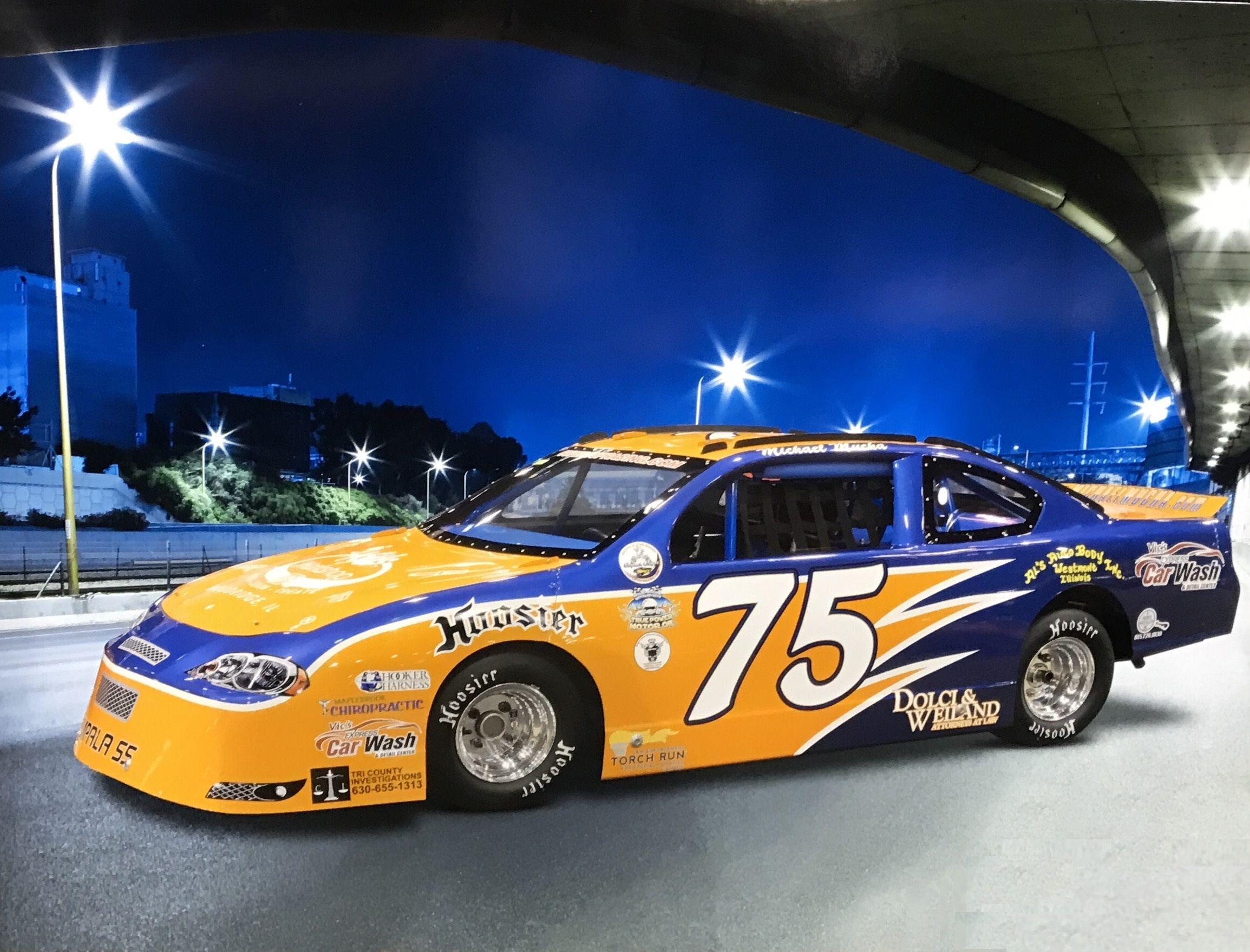 2017 Michael Mucha Racing Super Cup Car Racing Toy Car Car