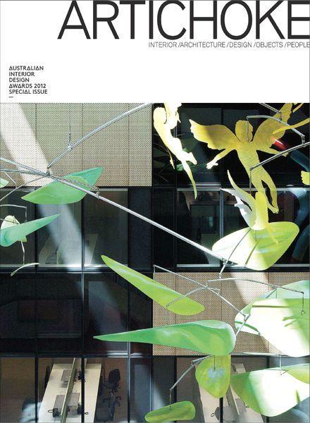 Artichoke Magazine Special Issue Australian Interior Design Awards 2012