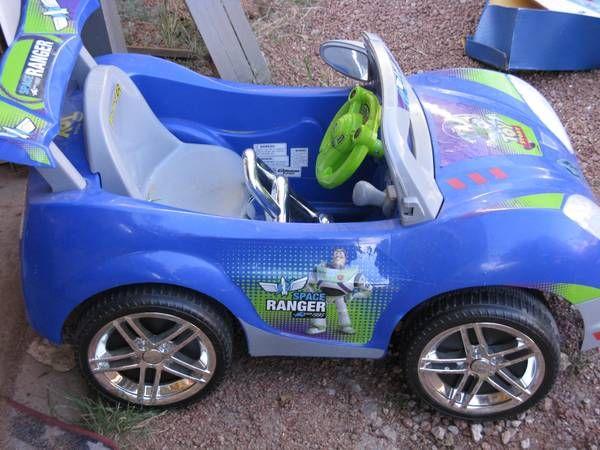 Toy Story Buzz Lightyear Power Wheels Car Buzz Lightyear Power