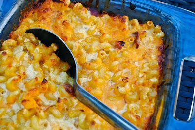 Mac and Cheese with bacon and caramelized shallots