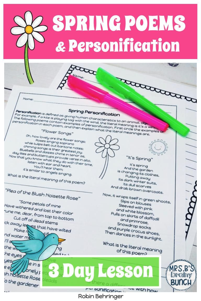Spring Poems Writing Activity Poems For Middle School Poetry Writing Activities Writing Activities [ 1152 x 768 Pixel ]