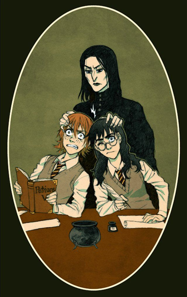 Gender-Bending Harry Potter Fan Art Is so Awesome I Might