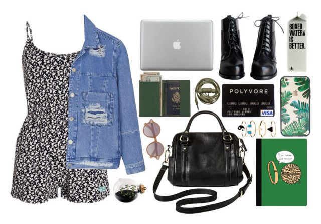 """""""-travel-"""" by unbxsica on Polyvore featuring moda, Sonix, House of Holland, Merona, C.R. Gibson, Monsoon, Esque Studio, Royce Leather y Elizabeth and James"""