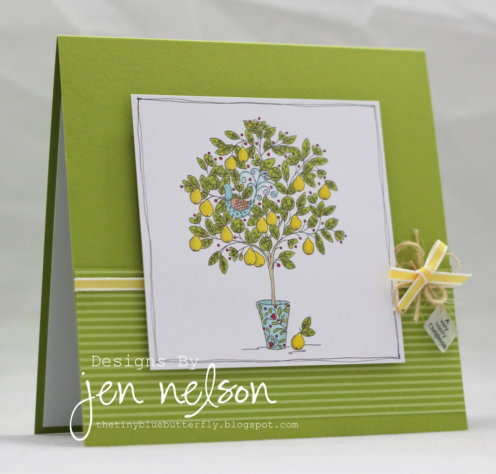 Stampin Up Partridge In A Pear Tree Partridge In A Pear Tree