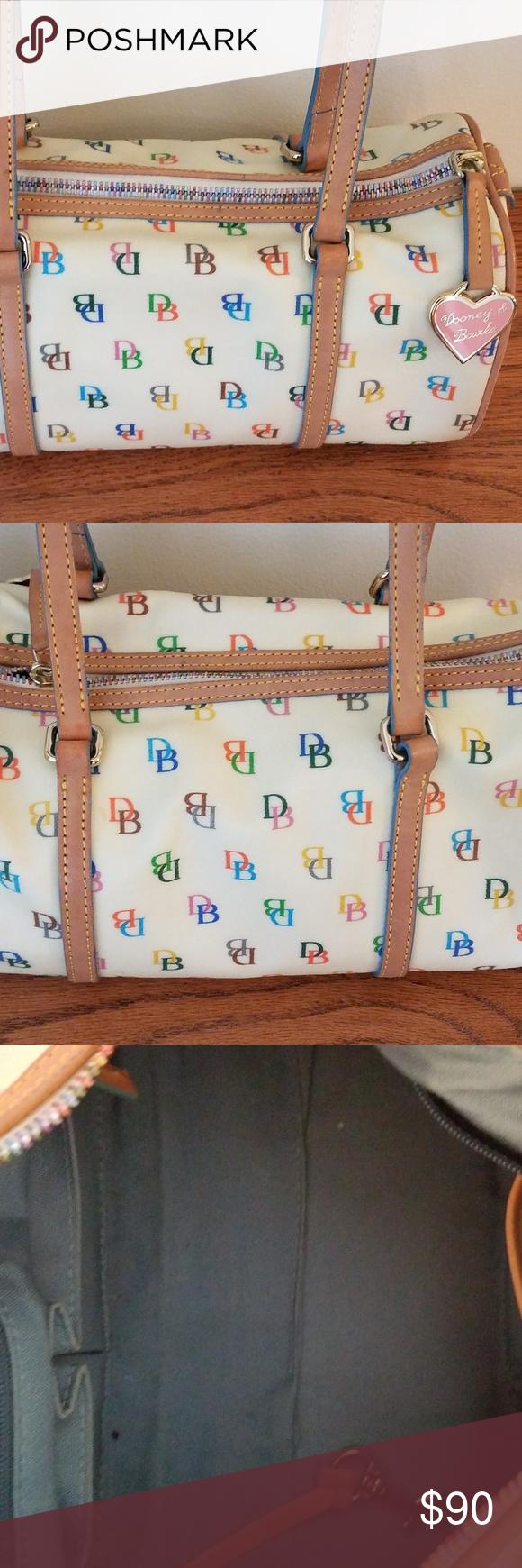 Dooney u bourke signature multicolor handbag in my posh