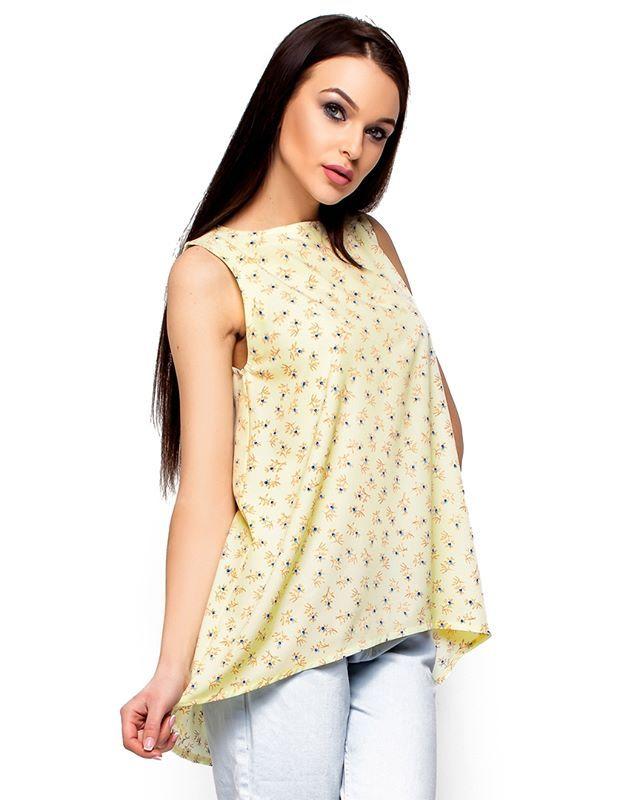 Блуза Моника светло-желтая Karreee   женскаяодеждамоднакраина  блуза  Материал  софт Сезон d7d568b4759