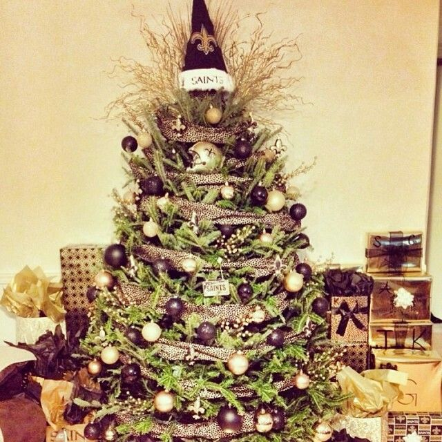 New Orleans Saints Christmas Tree - New Orleans Saints Christmas Tree My New Orleans Saints Diva Den