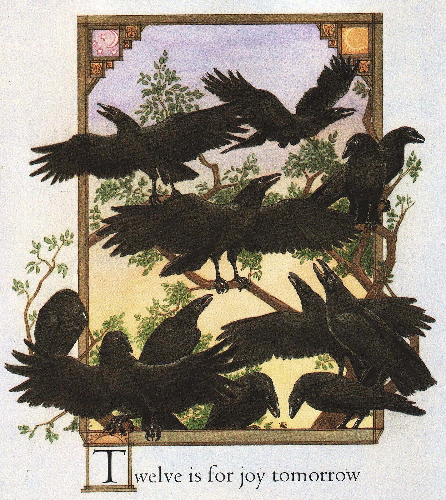 Heidi Holder. Crows.