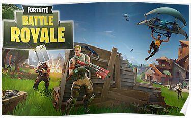 Fortnite battle royal Poster | Products | Epic games fortnite, Epic