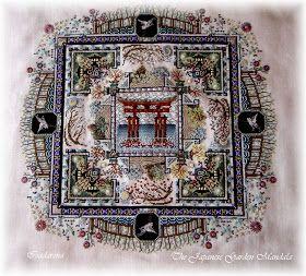 Isadarena Passions: Japanese Garden orné de ses perles et cristaux !