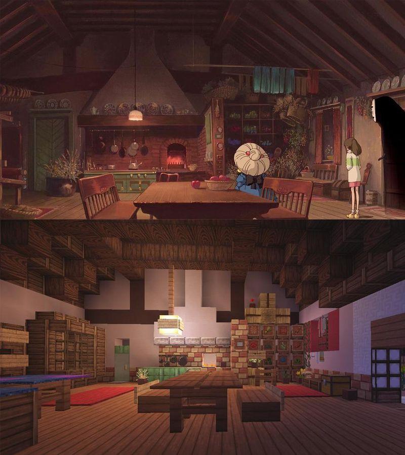 Photo of Pixelated Anime Fantasy Recreations minecraft creations