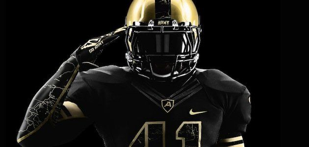 Army Unveils Wwii Inspired Uniforms For The Army Navy Game Army Football Football Uniforms Navy Games