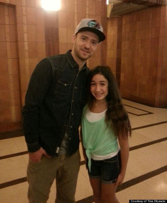 Justin Timberlake Meets 13-Year-Old Brain Surgery Survivor