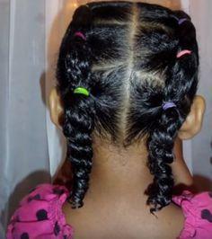 braidless braids in 2020  mixed kids hairstyles cute
