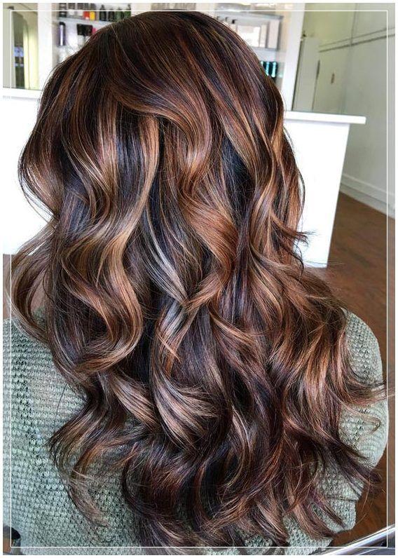 (15) braune haare mit strähnen (Schöne Frisuren 2019