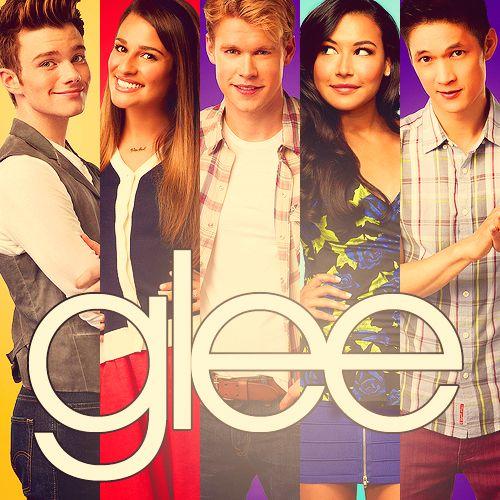 Kurt, Rachel, Sam, Santana, Mike.