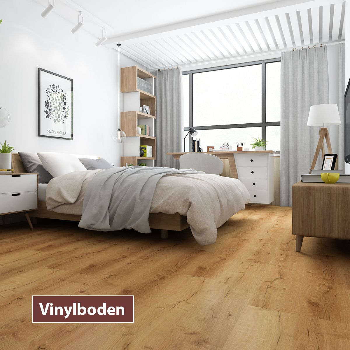 Vinylboden und Laminat – beide schön, aber sehr unterschiedlich