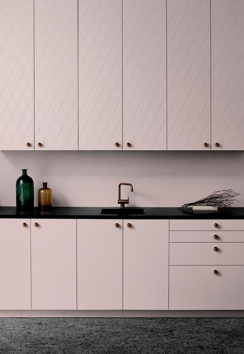 Six brands to help you customise IKEA kitchen cabinets - Pink kitchen cabinets, Ikea kitchen cabinets, Ikea kitchen, Kitchen cabinets, Kitchen remodel cost, Pink kitchen - It's surprisingly easy to transform standard IKEA kitchen cabinets with customised doors and drawer fronts  Here are six of the best companies to help