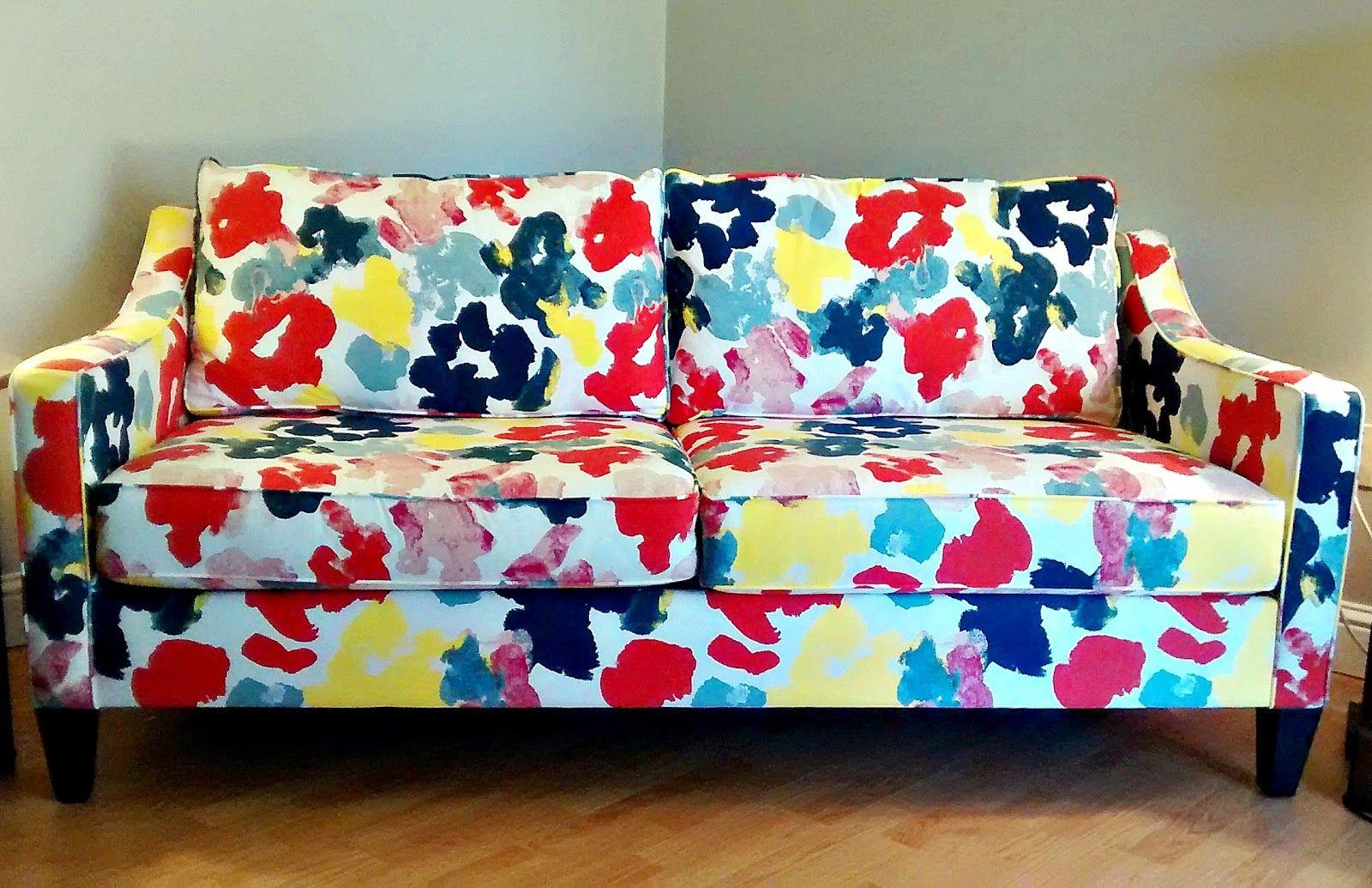 West Elm Paidge Sofa Printed Patterned
